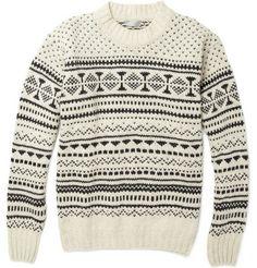 Margaret Howell fairisle sweater