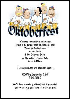 1000+ ideas about Oktoberfest Invitation on Pinterest ...