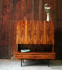 - german furniture architect mid century  modern rosewood credenza / highboard by  for Sale at Deconet