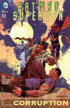 Batman/Superman (2013) #26 #DC #Batman #Superman (Cover Artist: Cary Nord , Ulises Arreola Palomera & Ardian Syaf) Release Date: 11/11/2015