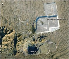 At a glance this photograph appears to be a small pit mine photographed from the air but in reality it is actually a pit mine that is about 2km wide and just over a 300m deep and was photographed by astronauts orbiting the Earth on board the International Space Station. While it is the smallest mine we have discussed satellite imagery and spatial data is still essential in the analysis of this mine > > Our #MineOfTheDay The New Cornelia Mine is located just south of Ajo Arizona. This…