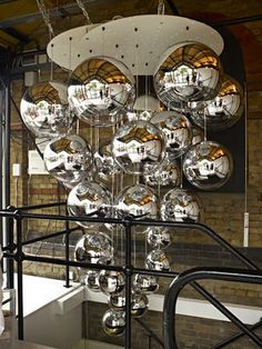 Mirror Ball Pendelleuchte, auf Made in Design