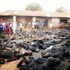 2,000 civilians killed in a terrorist attack in Nigeria on Wednesday and it doesn't even make world news