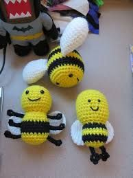 Image result for crochet bees
