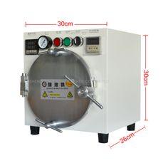 Autoclave Bubble Remover OCA Adhesive Sticker LCD Air Bubble Remove Machine+Air Compressor,Glass Refurbishment cellphone #Affiliate