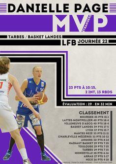 Danielle Page - MVP Etrangère - LFB Journée #22