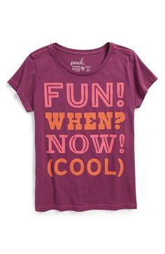 Peek+'Punctuation'+Tee+(Toddler+Girls,+Little+Girls+&+Big+Girls)+available+at+#Nordstrom