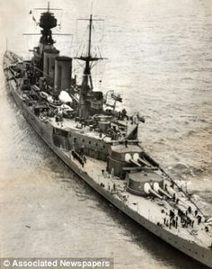 HMS Hood that was sunk by the Bismarck
