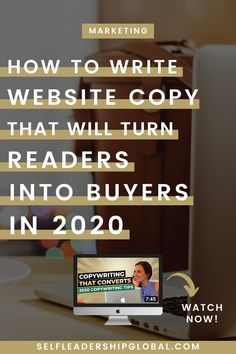 How to Write Website Copy that Will Turn Readers Into Buyers in 2020