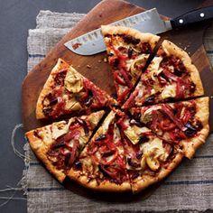 Antipasto pizza from Organic Gardening