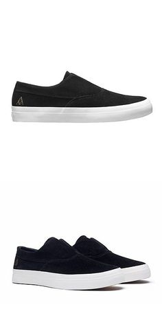 c87bc6ba29 Footwear 50883  Huf Shoes Dylan Slip On - Black White -  BUY IT NOW ONLY    45.99 on  eBay  footwear  shoes  dylan  black  white