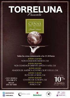 Viaje de sabores en Torreluna: Cenas del Mundo.