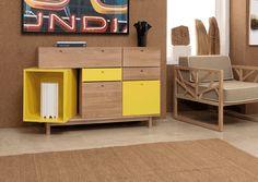 WEWOOD_Pandora_sideboard Projeto  Wewood nasceu em 2010 no Departamento de Pesquisa e Desenvolvimento dos Móveis Carlos Reis, uma empresa que alberga um know-how de 47 anos dedicados ao fabrico e exportação de móveis de madeira maciça.