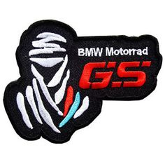 BMW MOTORRAD GS RALLYE DAKAR ADVENTURE MOTORCYCLE IRON JACKET PATCH