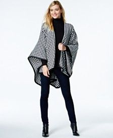 FRAAS Houndstooth Poncho- got it for Christmas :)