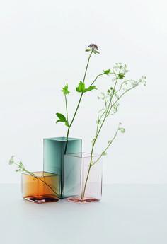 spring colours - vases Uutu Iittala