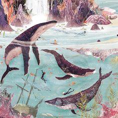 Does anybody draw whales better than Svabhu Kohli? I don't think so.