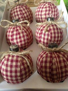 Cute country ornaments