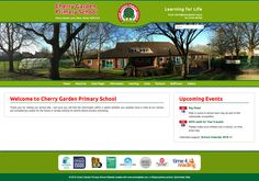 Going Live! Congratulations to Cherry Garden Primary on their new #schoolwebsite
