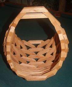 WOODEN ORCHID HANGING OR SITTING BASKET HAND MADE  porch, patio yard decor