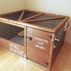 Animal House, Dog Houses, Animal Design, Animals And Pets, Toy Chest, Storage Chest, Dog Cat, Dogs, Furniture