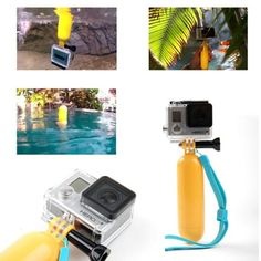 Gopro Accessories Floaty Bobber With Strap and Screw Hand-grip Buoyancy Stick For Gopro Hero 4/3/2/1