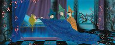 House of Summersville: Rare Eyvind Earle Sleeping Beauty Concept Art