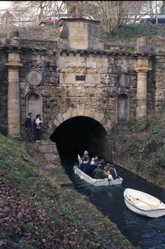 The Sapperton Tunnel in Gloucestershire, England
