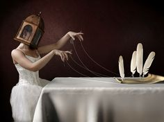 Jamie Baldridge 'Dystopia: A Ten-Penny Prophet', Manipulated photography and collage, 2007-2009