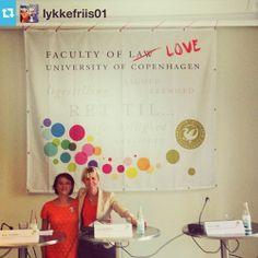Fra #lgbt, menneskerettigheder og Østeuropa debat med Lykke Friis som vært på Faculty of Love i anledning af København #pride