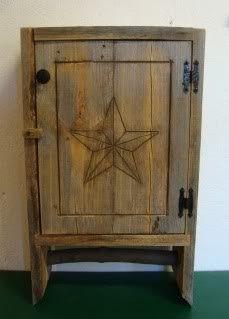 follow your heart woodworking: Barn Board Cupboard