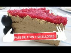 PATE DE MEJILLONES Y ATUN - YouTube Cheesecake, Youtube, Desserts, Food, Deserts, Mussels, Cook, Hands, Tailgate Desserts