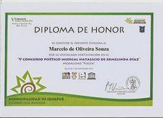 marceloescritor2: Prêmio de destaque no Chile