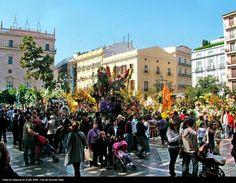Fallas en Valencia en el año 2009 - Foto de Gonzalo Obes