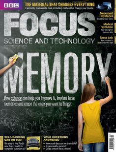 The April issue of BBC Focus Magazine #266 on sale now. We look at how science can help you improve your memory, and how therapies might be able to help you erase unwanted memories in the future  http://sciencefocus.com