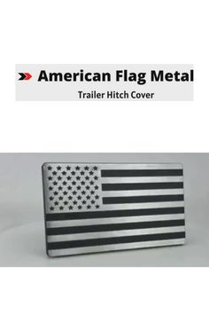USA US American Flag Trailer Hitch Cover Tube Plug Insert Fits 2 Receivers,Thin Red line