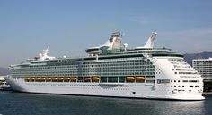 The Royal Caribbean cruise ship the Mariner of the Seas.