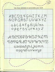 Alfabeti punto scritto 5pt