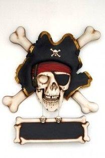 Las mejores réplicas de calaveras de piratas para la decoración de carnaval