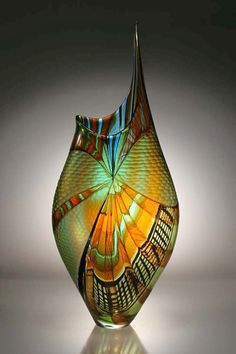 Afro Celotto - Trappole - Blown and cold-worked glass