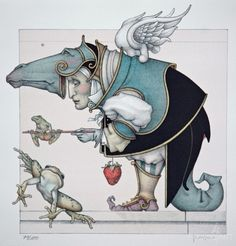 'Frog Collector' - Michael Parkes