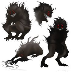 monsters with multiple eyes - Google Search