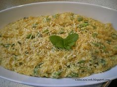 Broad Bean, Bacon and Mint #Risotto #Recipe - using the #Thermomix