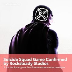 Suicide Squad Game Confirmed  by Rocksteady Studios  #SuicideSquad #DC #pinoygamer