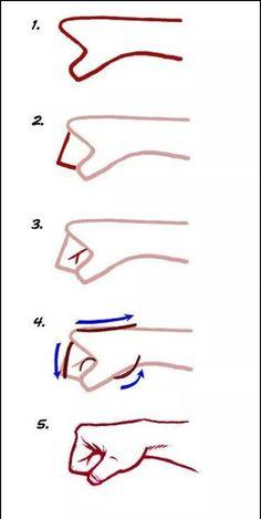 Fist step by step
