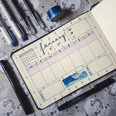 "56 Likes, 1 Comments - Josie (@journalphine) on Instagram: ""Still not really settled on a weekly planning spread - but this is what I'm trying out this week! ✨…"""