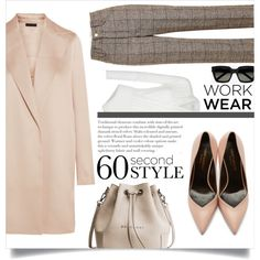#96 - 60 second style. Work Wear by alystyles12 on Polyvore featuring moda, The Row, Marc Jacobs, Yves Saint Laurent, WorkWear and 60secondstyle