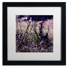 Trademark Fine Art Purple Morning Matted Framed Art by Beata Czyzowska Young