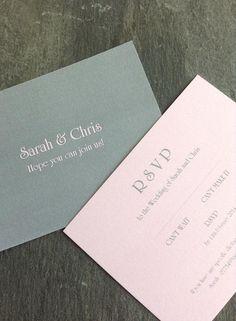 Sarah & Chris - RSVP