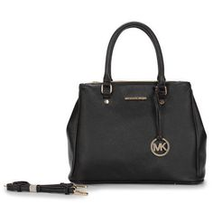 Michael Kors Hamilton Medium Black Totes Gives Most Fashionable Life And Lets You Become More Outstanding!